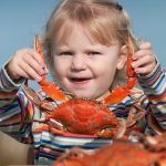 Girl With Crab